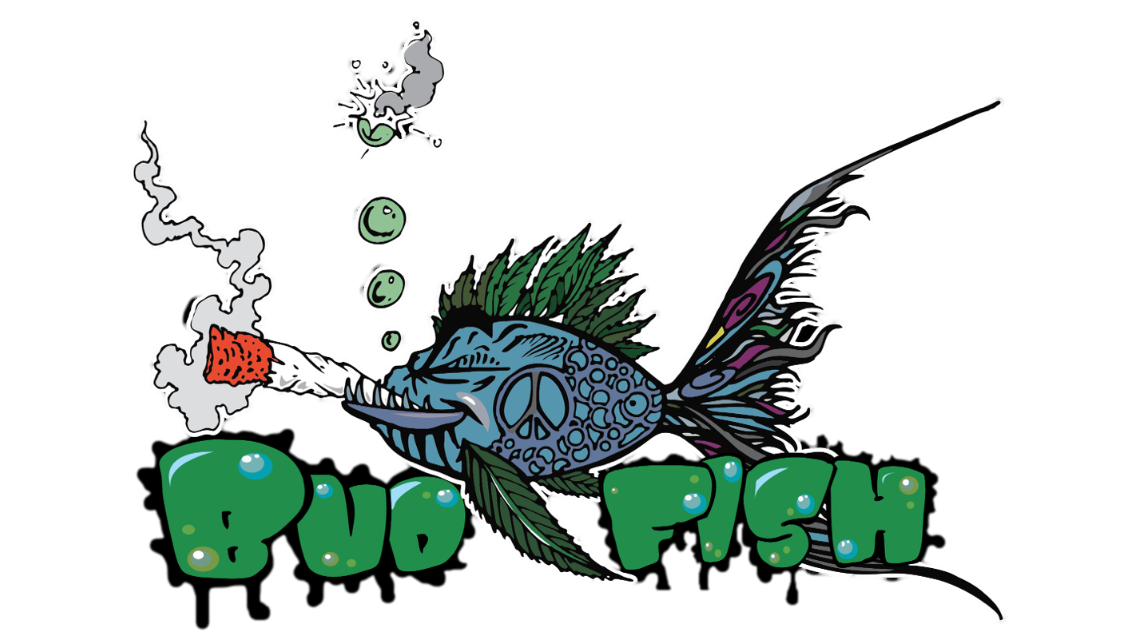 Bud Fish Sticker Idea